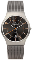 Buy Mens Grey Titanium Skagen Watch online