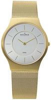 Buy Mens Classic Gold Tone Skagen Watch online