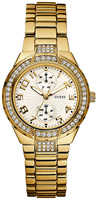 Buy Ladies Gold Guess Watch online