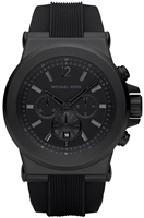 Buy Mens Michael Kors Black Chronograph Watch online