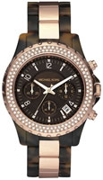 Buy Ladies Michael Kors Brown Dial Chronograph Watch online