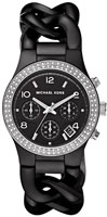 Buy Ladies Michael Kors Ceramic Chronograph Watch online