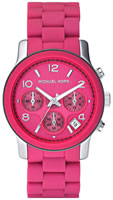 Buy Ladies Pink Michael Kors Chronograph Watch online