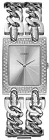 Buy Ladies Guess Heavy Metal Silver Watch online