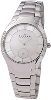 Buy Ladies Skagen Multicolour Silver Watch online