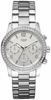 Buy Ladies Guess Silver Chronograph Watch online