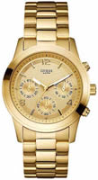 Buy Ladies Guess Mini Spectrum Gold Tone Chronograph Watch online