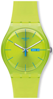 Buy Unisex Swatch Lime Rebel Watch online