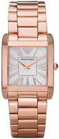 Buy Ladies Emporio Armani Super Slim Rose Watch online