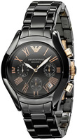 Buy Mens Emporio Armani Ceramica Chronograph Watch online