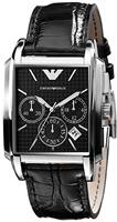 Buy Mens Emporio Armani Dark Chronograph Watch online