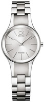 Buy Ladies Silver Calvin Klein Simplicity Watch online