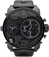 Buy Mens Diesel Black Super Bad Ass Watch online