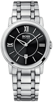 Buy Mens Hugo Boss Silver Touch Watch online