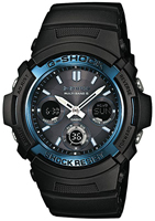 Buy Mens Casio AWG-M100A-1AER Watches online