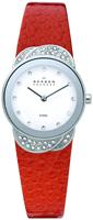 Buy Ladies Skagen Steel Leather Watch online