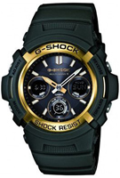 Buy Mens Casio AWG-M100A-3AER Watches online