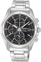 Buy Mens Seiko Solar Alarm Chronograph Watch online