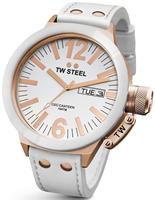 Buy Mens Tw Steel White Canteen Watch online