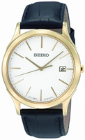 Buy Mens Seiko Analogue Leather Watch online