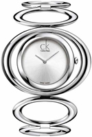 Buy Ladies Silver Calvin Klein Graceful Watch online