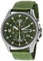 Buy Mens Seiko Laidback Khaki Green Watch online