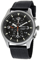 Buy Mens Seiko Material Chronograph Watch online