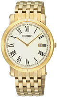 Buy Mens Seiko Gold Plated Classic Watch online