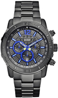 Buy Mens Guess Grey Brickhouse Chronograph Watch online