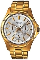 Buy Unisex Sheen SHE-3801GD-7AEF Watches online