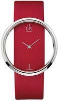 Buy Ladies Calvin Klein Red Glam Watch online