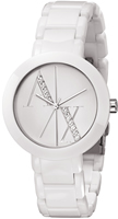 Buy Ladies Armani Exchange White Elegant Style Watch online