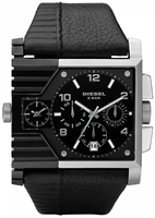 Buy Mens Diesel Black Leather  Watch online