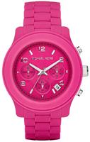 Buy Ladies Michael Kors Pink Plastic Watch online