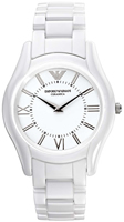Buy Mens Emporio Armani White Ceramica Watch online
