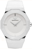 Buy Ladies Emporio Armani White Donna Watch online