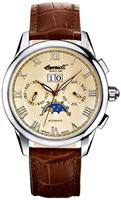 Buy Mens Ingersoll Scott Cream Brown Watch online