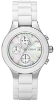 Buy Ladies Dkny White Plastic  Watch online