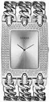 Buy Ladies Guess Heavy Metal Silber Watch online