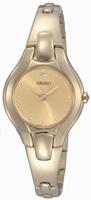 Buy Ladies Seiko Diamond Gold Tone Watch online