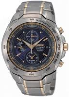 Buy Mens Seiko Titanium Chronograph Watch online