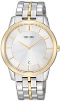 Buy Seiko Silver Dial Two-tone Stainless Steel Strap Men's Watch online