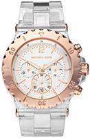 Buy Ladies Michael Kors Rose Gold Steel Watch online