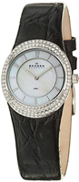 Buy Ladies Skagen Slim Crystal Watch online