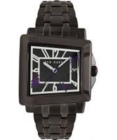 Buy Ted Baker Mens Gunmetal Bracelet Watch online