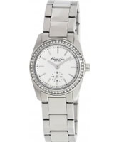 Buy Kenneth Cole Ladies Silver Steel Watch online