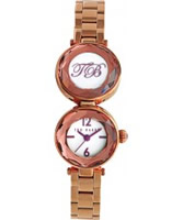 Buy Ted Baker Ladies Pearl Rose Gold Watch online