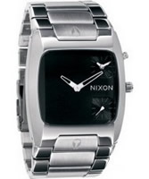 Buy Nixon The Banks Black Steel Watch online