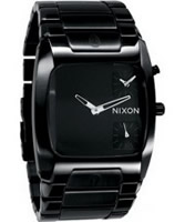 Buy Nixon The Banks All Black Steel Watch online