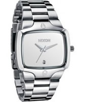 Buy Nixon The Player White Steel Watch online